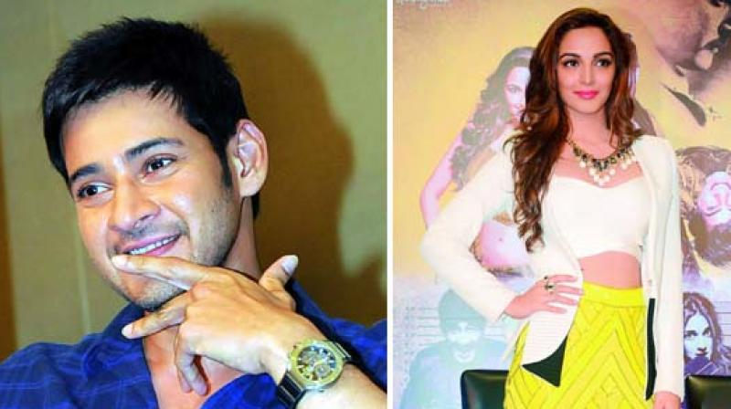 Mahesh Babu and Kiara Advani