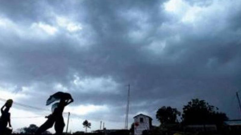 The Indian Meteorological Department on Tuesday issued a Thunderstorm warning accompanied with rain, squall and hailstones. (Photo: File)