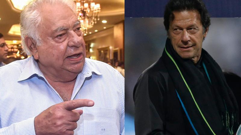 """""""Imran Khan, he is the prime minister now. Hopefully India and Pakistan will start a dialogue,"""" Farokh Engineer, a brilliant wicket-keeper, told the inaugural Ranji Memorial Public Conversation on Cricket in London this week. (Photo: PTI)"""