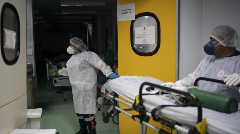 Brazil sees record-high ICU occupancydue to COVID-19 surge