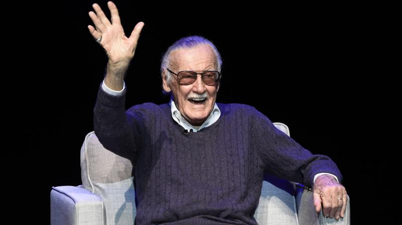 Stan Lee, known for his distinctive tinted glasses and impish grin, frequently appeared at fan events where he was revered. (Photo: AP)