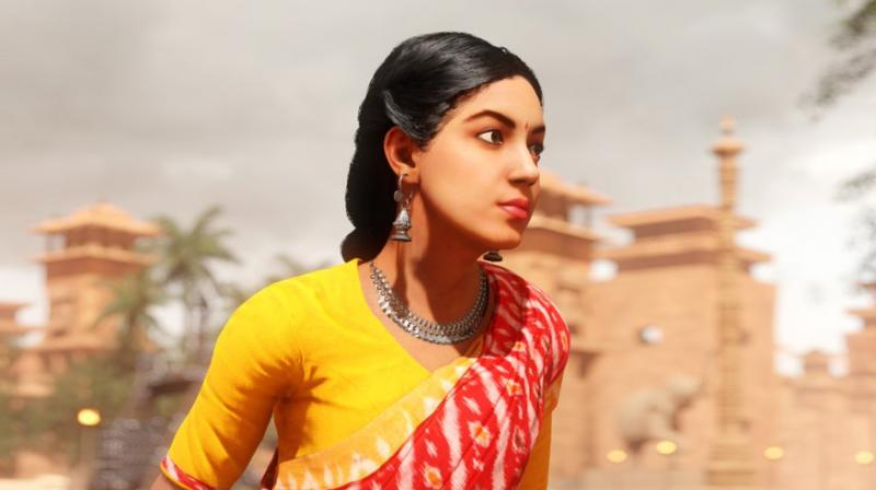 Ritu Varma as the VR character Samaya