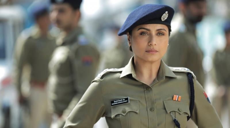 Rani Mukerji's look from Mardaani 2. (Photo: Twitter)