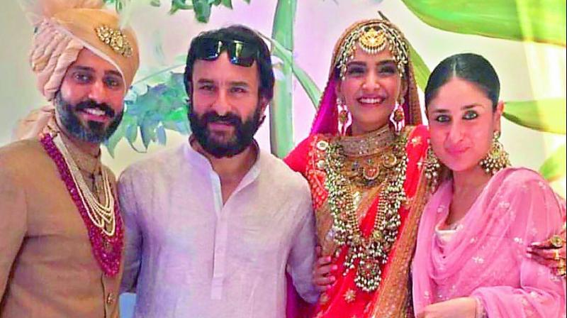 Sonam Kapoor-Anand Ahuja's wedding festivities in full swing