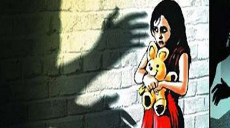 Late on Saturday evening, the victim was playing in front of her house when Venkataiah approached her and took her with him to his terrace. Soon, locals living in the adjacent building noticed that he was touching the girl inappropriately. (Representational Image)