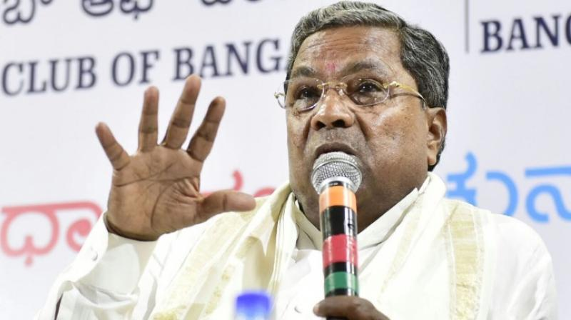 Outgoing chief minister Siddaramaiah turned emotional at the maiden meeting of the newly- elected Congress party legislators on Wednesday while speaking on the party's humiliating debacle in the assembly polls.