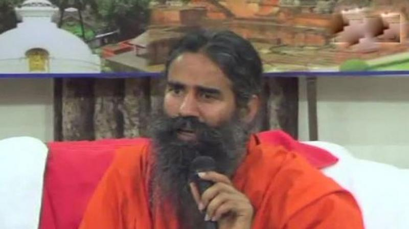 Ramdev was replying to a question about Thakur's remarks against the then Mumbai Anti-Terror Squad (ATS) Chief Hemant Karkare. (Photo: File)