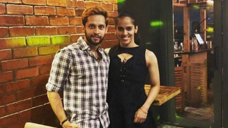 There was no end to Indian shuttler Saina Nehwal's lackluster run of form as the Olympic bronze-medallist crashed out of China Open here on Wednesday following a straight-game opening-round defeat to local favourite Cai Yan Yan. (Photo: Instagram / Parupalli Kashyap)