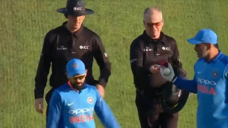 Chasing 258 to win, England finished with 260/2 in 44.3 overs as India's streak of nine consecutive bilateral series wins came to a halt.(Photo: Screengrab)