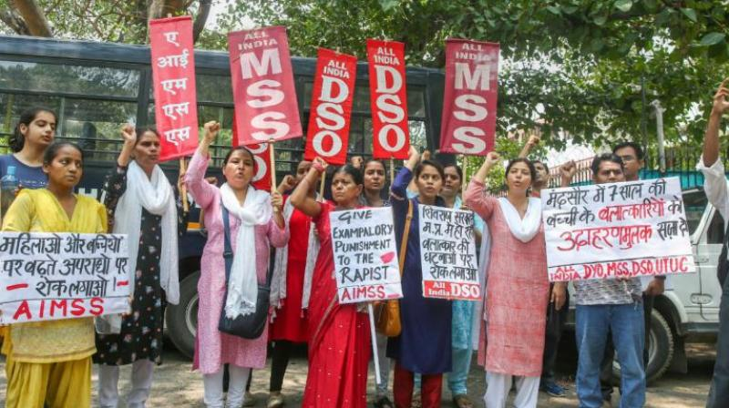 Protests had erupted over the abduction and rape of an 8-year-old girl in Mandsaur. (Photo: File/PTI)