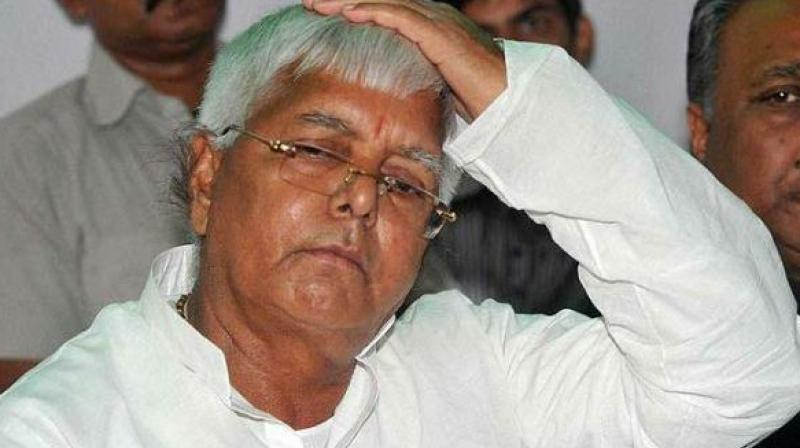 RJD President Lalu Prasad Yadav and his family have been in the firing line recently for various corruption and money laundering cases, like the fodder scam. (Photo: PTI)