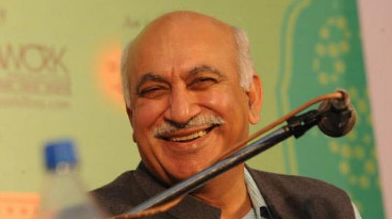 Union Minister M J Akbar. (Photo: File)