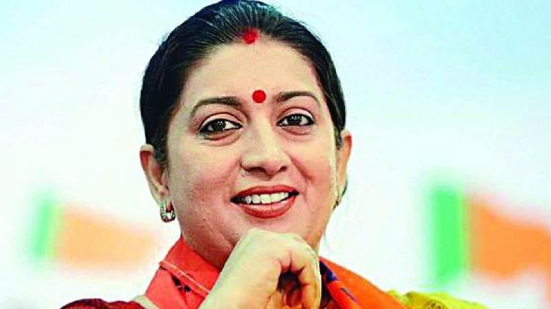 Union Minister Smriti Irani said that it's a 'new morning' for Amethi. (Photo: File)