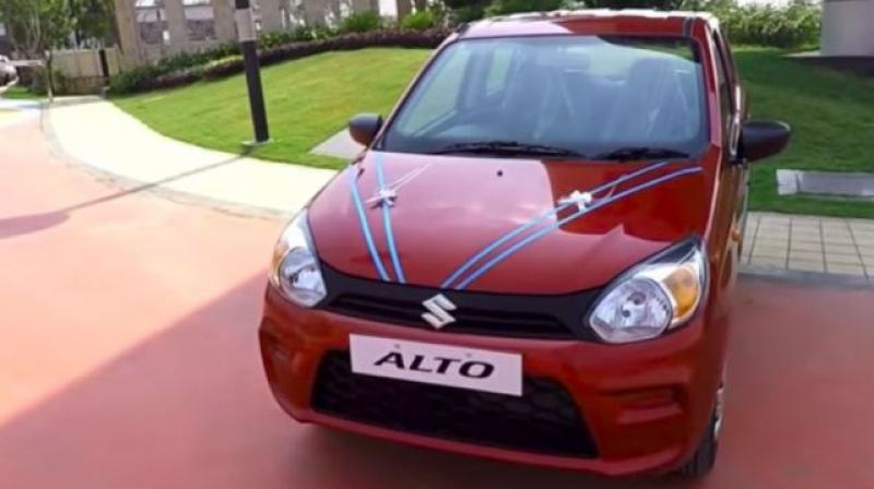 2019 Maruti Alto 800 should get ABS with EBD, driver airbag, rear parking sensors and speed alert system as standard.