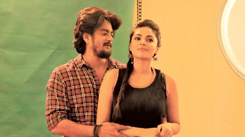 Alex and Sanam Shetty in the movie Ethirvinaiyatru