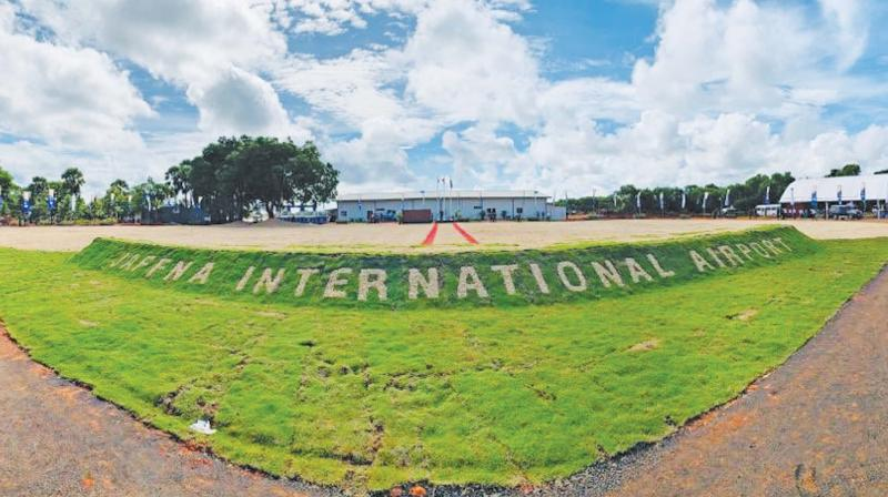 The refurbished/upgraded Palali International Airport.