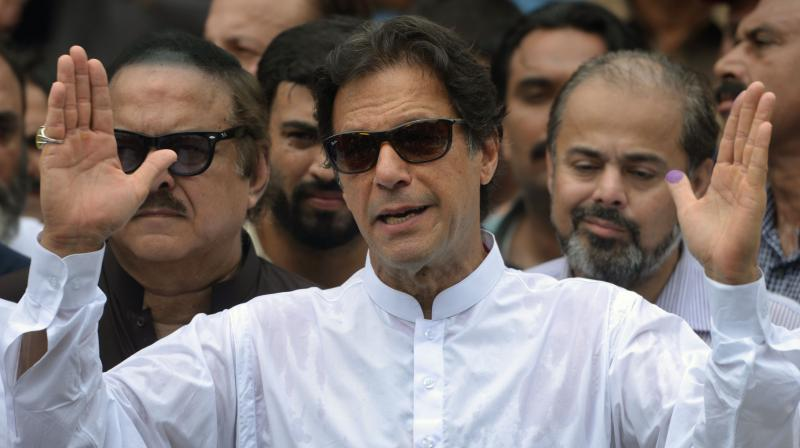 Pakistan Prime Minister Imran Khan (Photo: AFP)