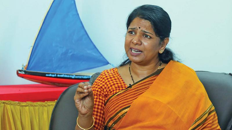 Participating in the discussion on the Muslim Women (protection of Rights on Marriage) Bill, 2019, DMK leader Kanimozhi said she was opposed to the bill. She said the bill would not send a right signal. (Photo: File)