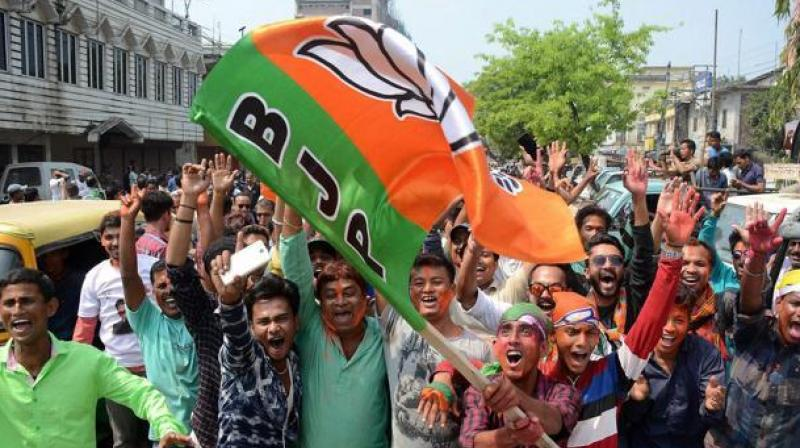 BJP's state vice president Jay Prakash Majumdar went to the West Bengal secretariat and submitted the letter which mentioned about holding four yatras in the state. (Representational Image)