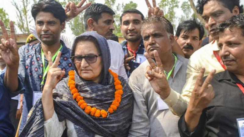 Rashtriya Lok Dal's Tabassum Hasan won the Kairana seat by a margin of 44,618 votes. (Photo: PTI)