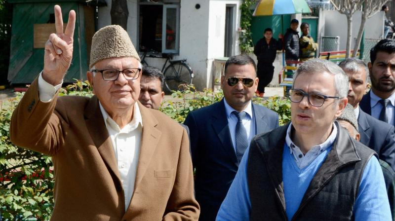 While reiterating that dissent was the core of democracy, NC leaders expressed concern over the situation in the state. (Photo: PTI)