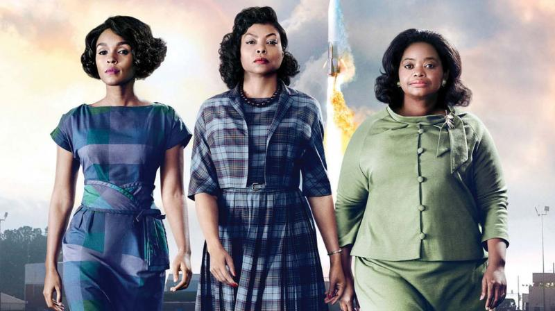 A still from the movie Hidden Figures