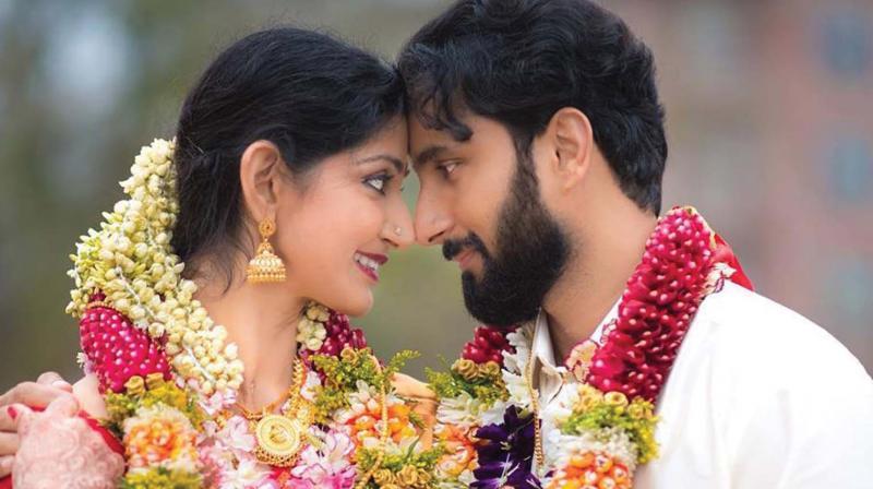 Divyaa Unni and Arun Kumar