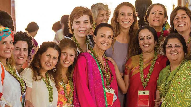 A file picture of the previous edition of the International womens conference.