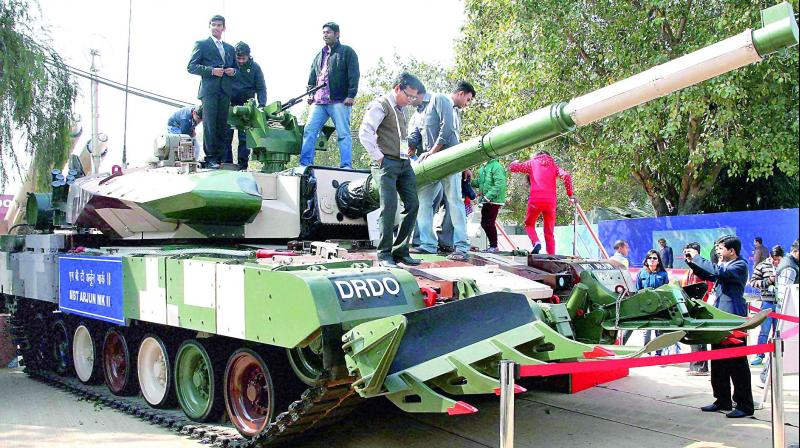 An additional weight of about 3 tonne for the Arjun Main Battle Tank Mk II has resulted in problems relating to agility, mobility and operational employability.