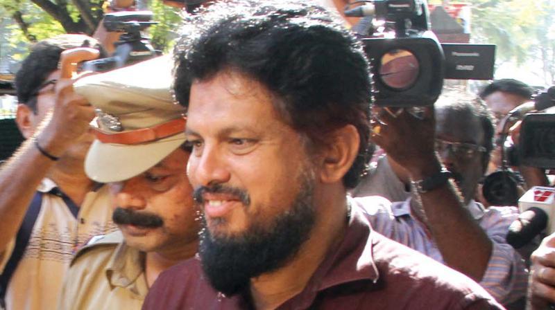 Police produce Peace International School chairman MM Akbar at Ernakulam CJM court on Monday. (Photo: DC)