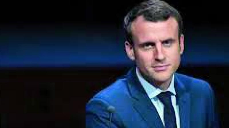 French President Emmanuel Macron said the two nations -- alongside fellow democracy India -- had a responsibility to protect the region from 'hegemony' -- a veiled reference to Beijing's growing might. (Photo: File)