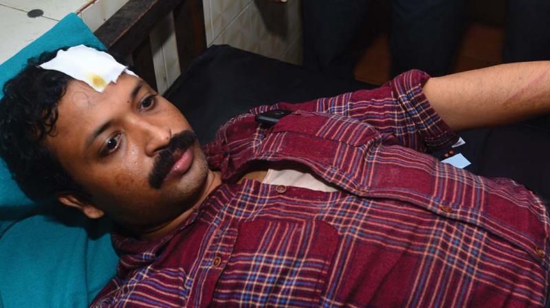Bency Joseph at Taluk Hospital in Malappuram.
