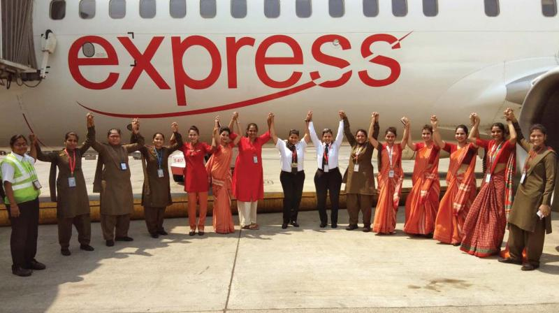 Air India to operate all-women flights on women's day