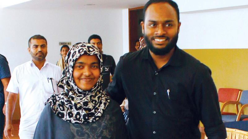 The Supreme Court in March upheld the marriage of Hadiya, a 26-year-old Kerala woman who converted to Islam and wed a Muslim man, upholding a woman's right to choose a partner. (Photo: Venugopal)