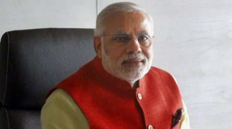 PM Modi flags off Palace Queen Humsafar Express in Mysuru