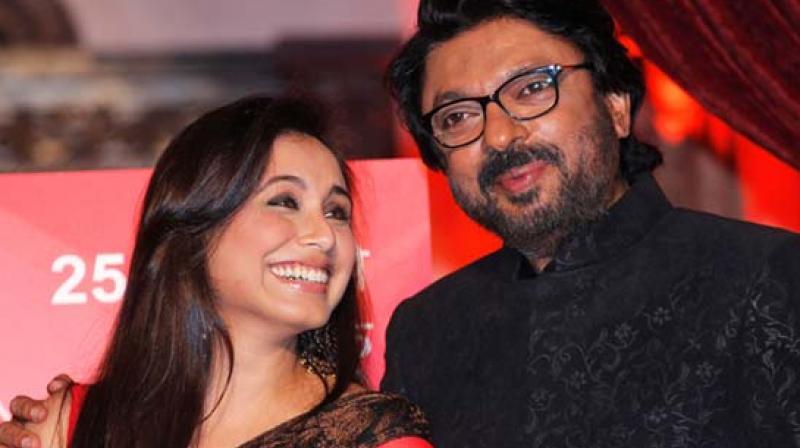 Rani Mukerji and Sanjay Leela Bhansali.