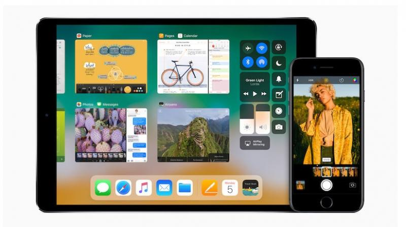 In comparison to iPhone, the platform will bring more changes to the iPad by including a new dock, drag-and-drop, muti-tasking and more.