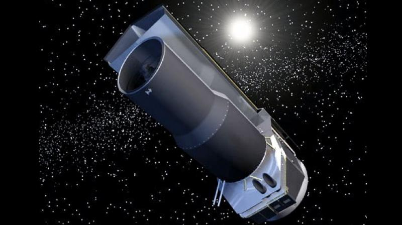 NASA's Spitzer Space Telescope has completed 15 years of space exploration. (Photo credit: NASA)