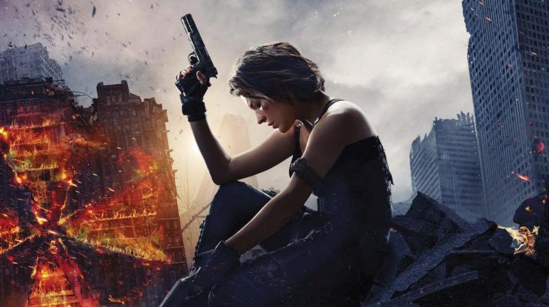 A still from the movie Resident Evil: The Final Chapter