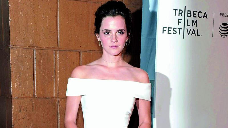 A picture of Emma Watson used for representational purpose only