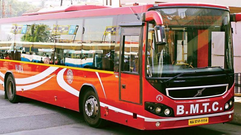 BMTC bus