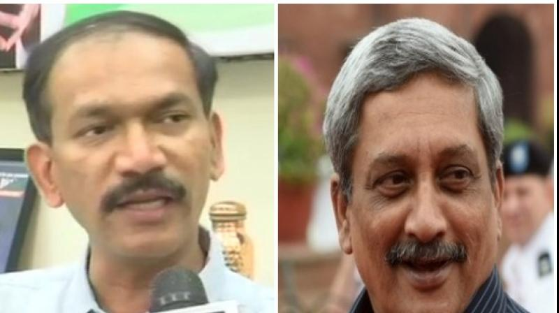 Chodankar is contesting against BJP candidate and Union minister Shripad Naik. (Photo: ANI)