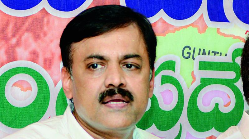 BJP MP GVL Narasimha Rao