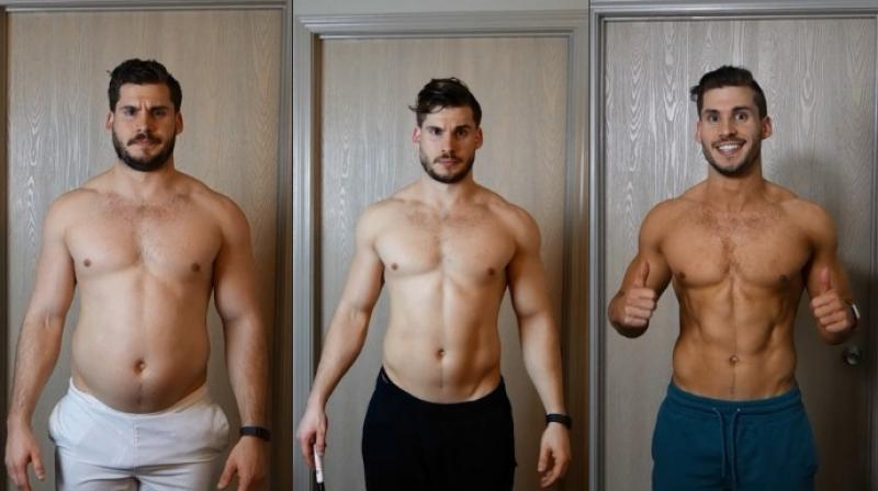 Watch: Time-lapse video shows man's incredible weight loss