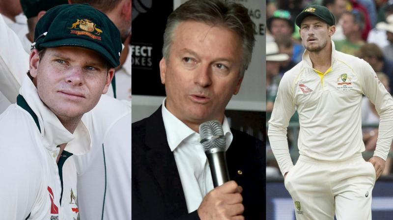 Australian cricketers sent home over ball tampering