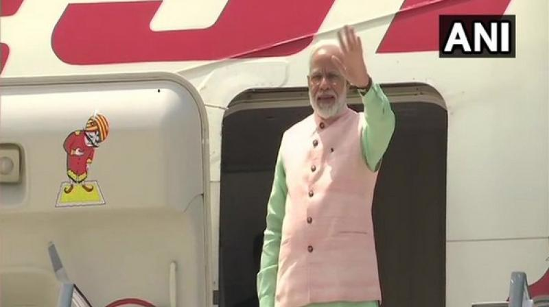 During his visit to France, the prime minister is also scheduled to address the Indian community in Paris and also inaugurate the Memorial for the Indian victims of the Air India crashes at Nid D'Aigle. (Photo: ANI)