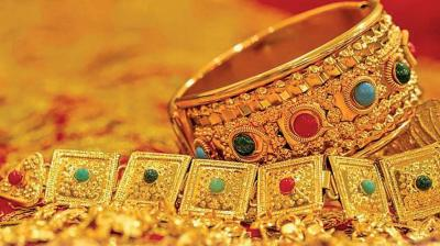 In the global market, gold prices traded up at USD 1,503 an ounce in New York, while silver was also trading up at USD 17.87 per ounce.