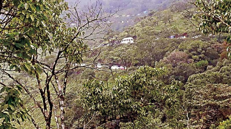 Landslide hit Kodagu under threat from quarrying and massive deforestation.