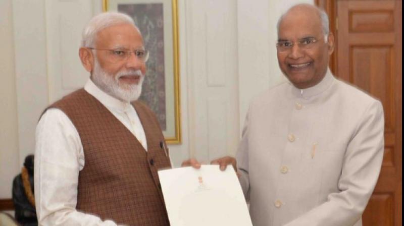President appoints Narendra Modi as Prime Minister