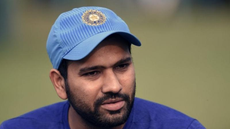 Team India's right-handed top order batsman Rohit Sharma's new cricket academy, CricKingdom, will be launched in Chennai on Wednesday. (Photo: AFP)